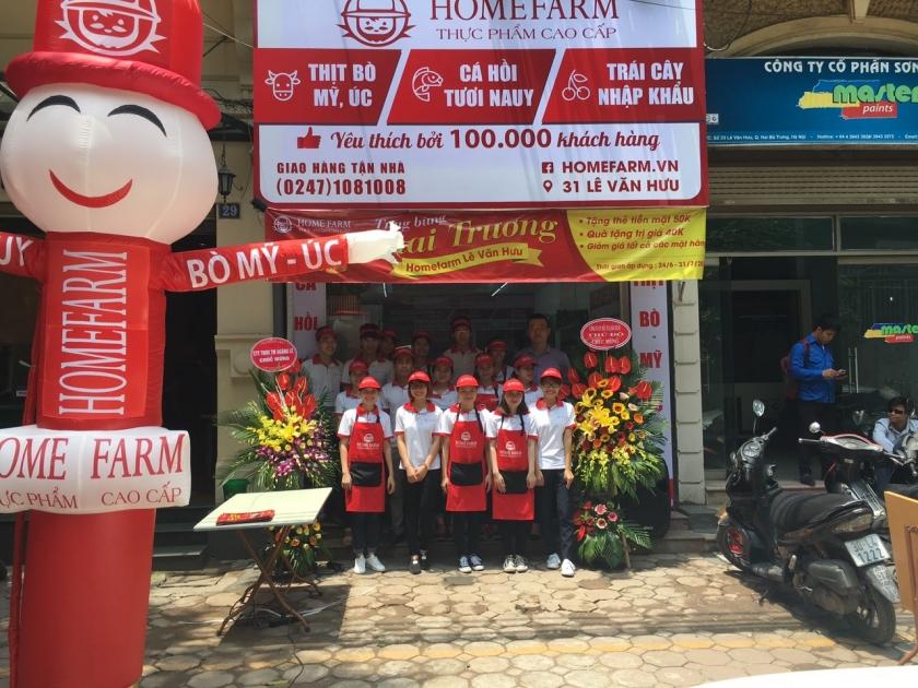 Homefarm tuyển nhân viên cửa hàng