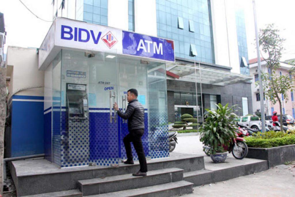 ATM BIDV ở HCM
