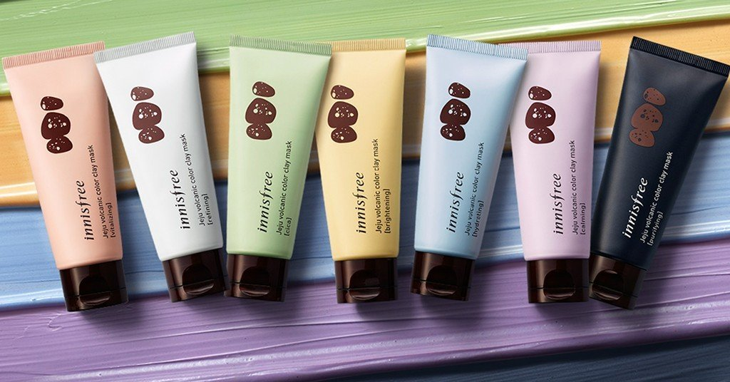 Innisfree Volcanic Color Clay Mask