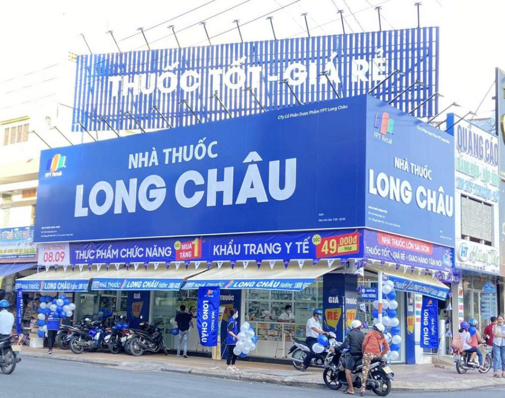 Danh sách tiệm thuốc Long Châu gần nhất