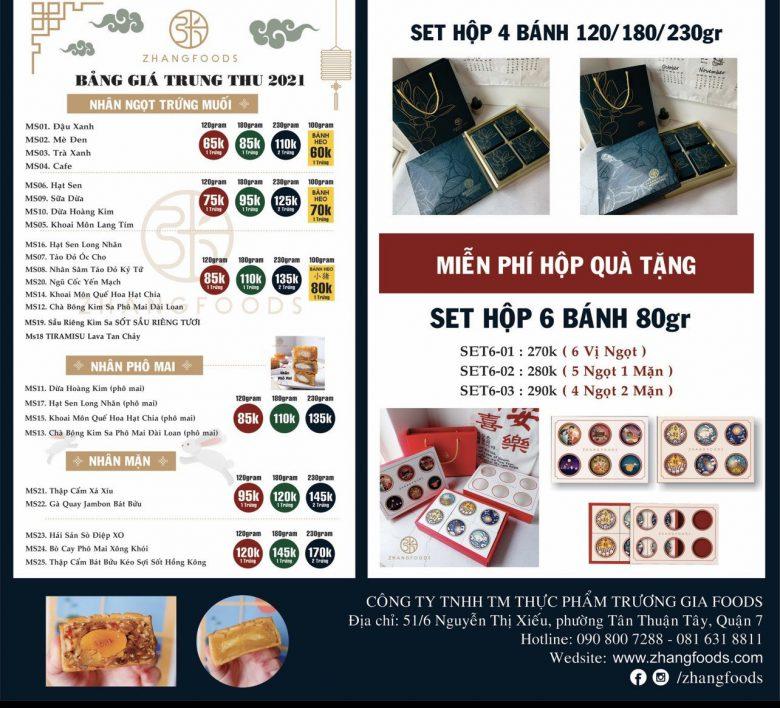 Đặt mua bánh trung thu đài loan online